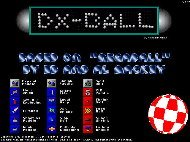 DXBall  Software and Games