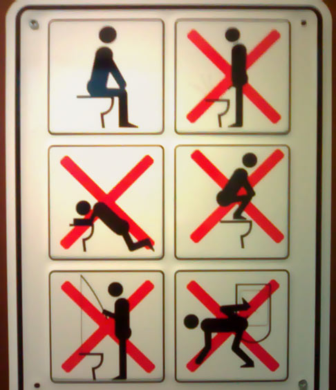How To Use The Bathroom At School