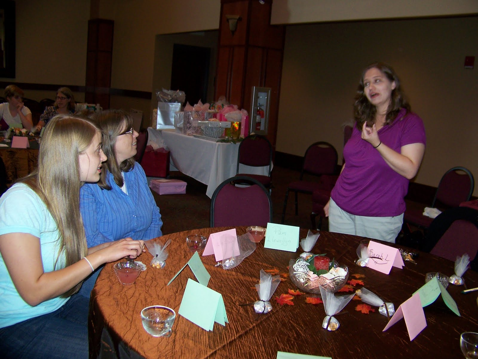Life At The Llewellyns Quot Showered Quot With Gifts