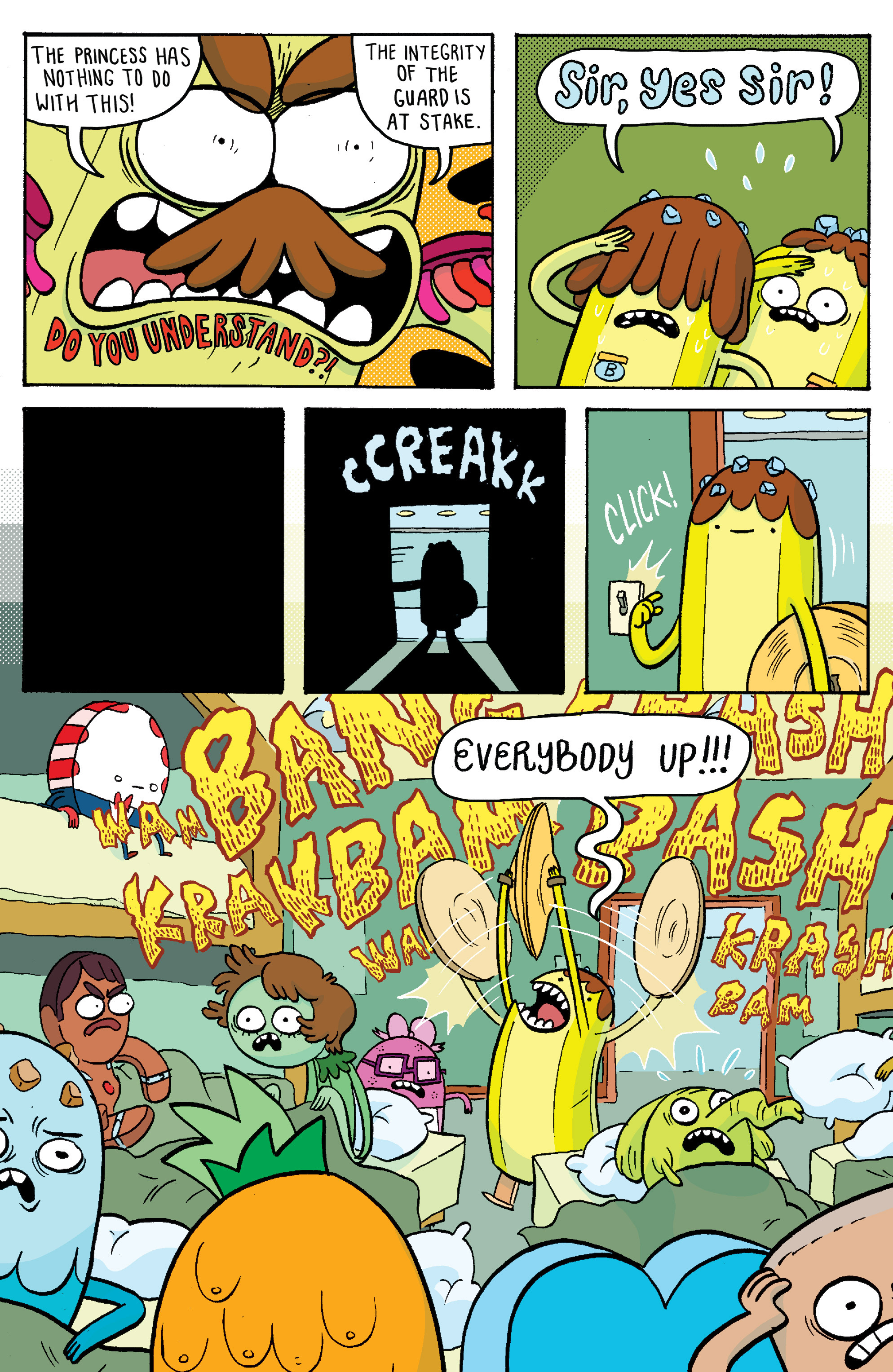 Read online Adventure Time: Banana Guard Academ comic -  Issue #2 - 13
