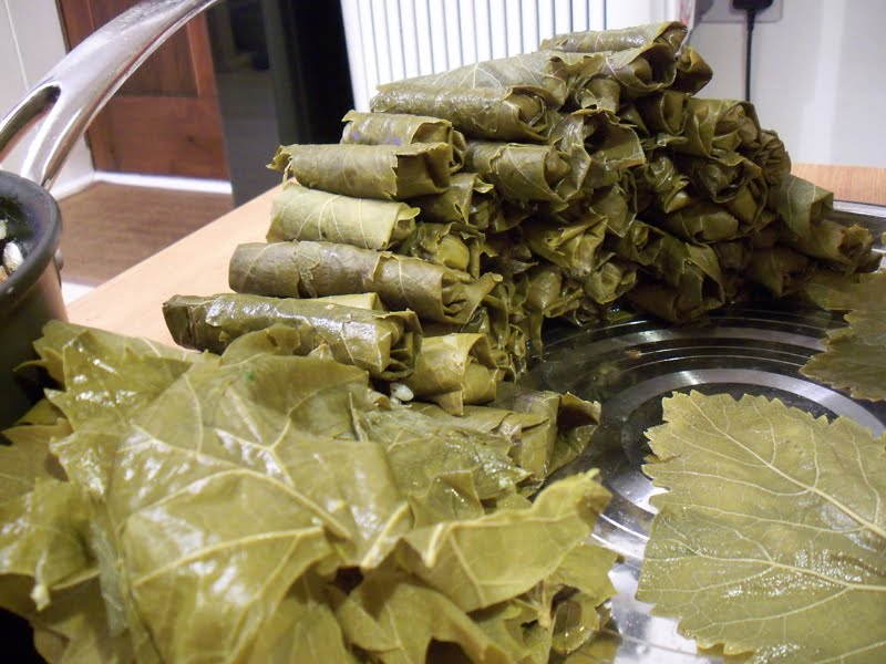 Syrian Foodie In London One Hundred And One Mezze 21 Stuffed Vine Leaves