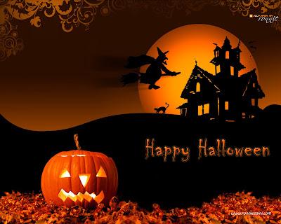 Free Halloween Wallpapers - mmw blog: 3d Halloween Wallpaper