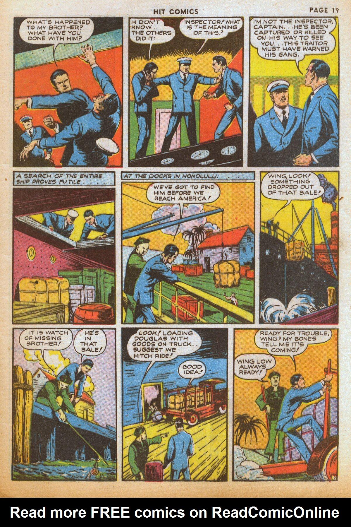 Read online Hit Comics comic -  Issue #12 - 21