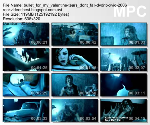 My Style Tears Dont Fall Bullet For My Valentine Lyrics