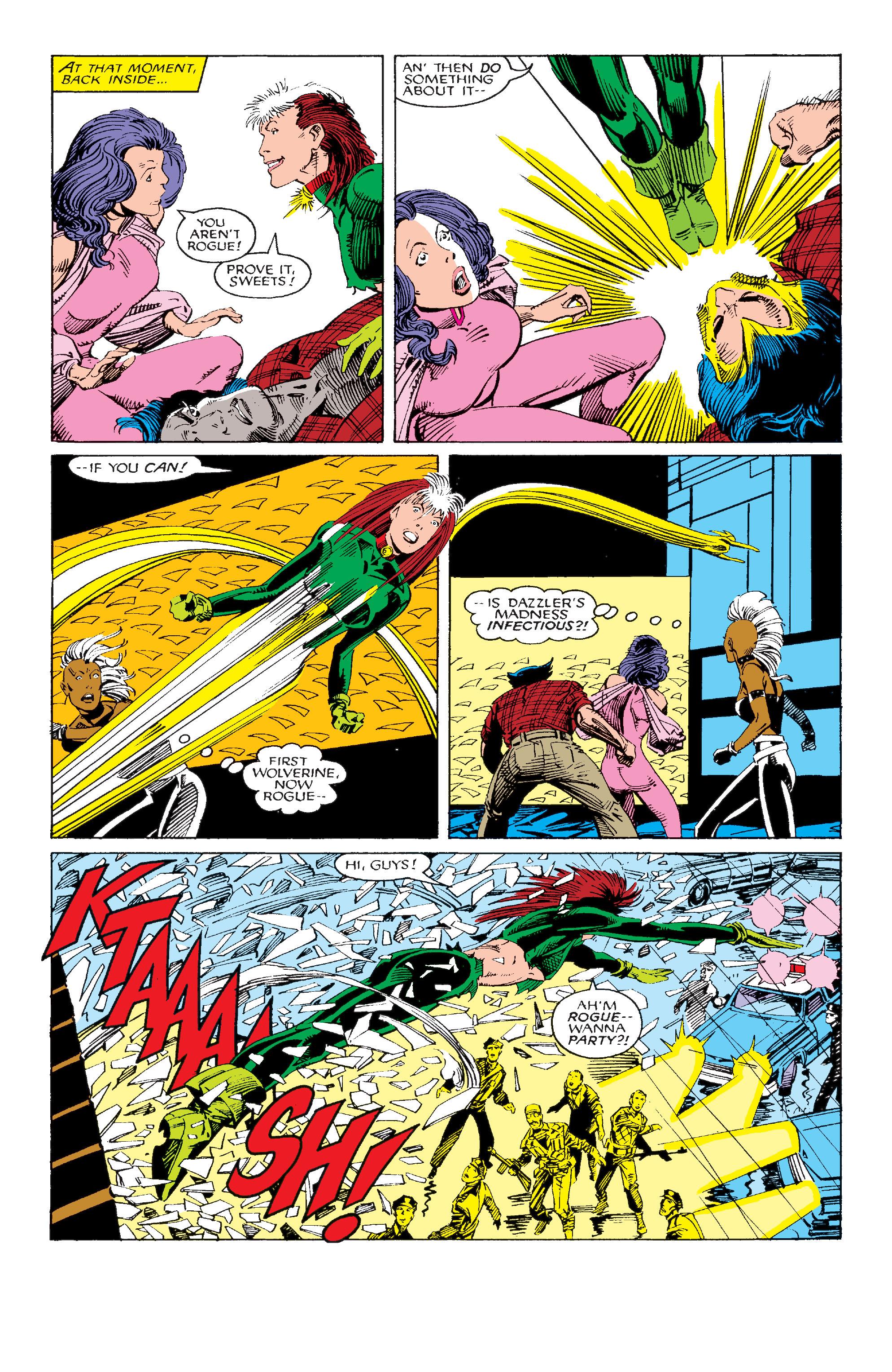 Read online Uncanny X-Men (1963) comic -  Issue #214 - 16