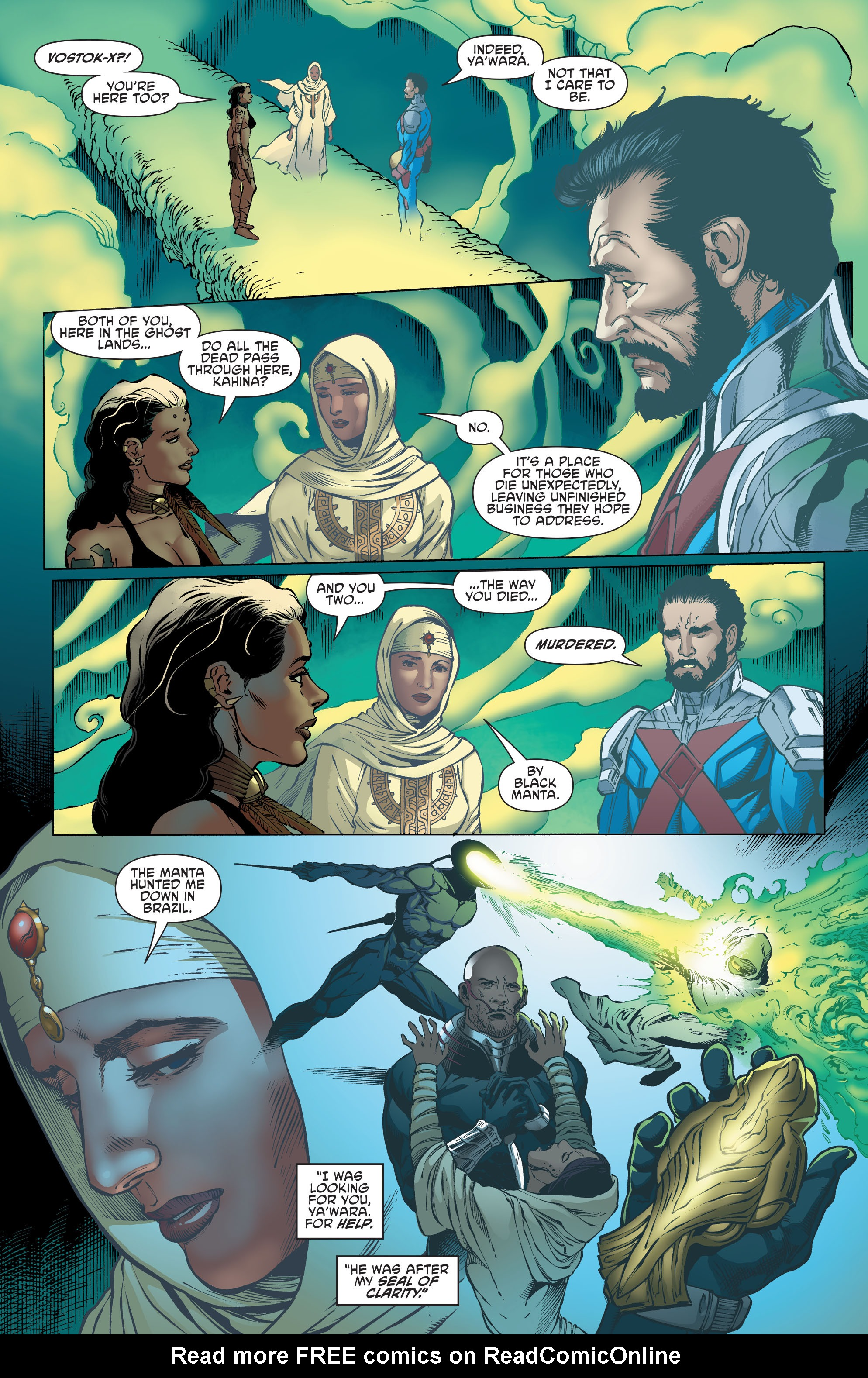 Read online Aquaman and the Others comic -  Issue #4 - 5