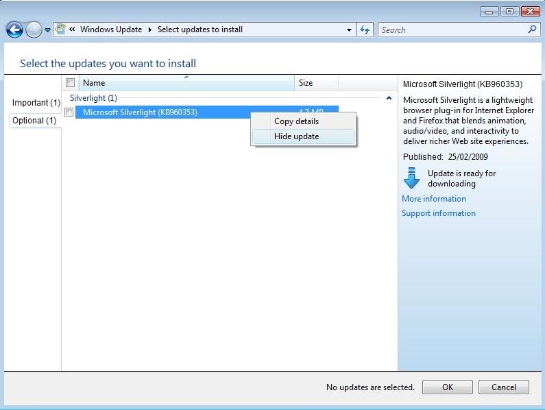 Everday stuff: Hidden Microsoft Silverlight keeps