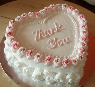 Bake A Story Heart Shaped Cake To Say Thank You
