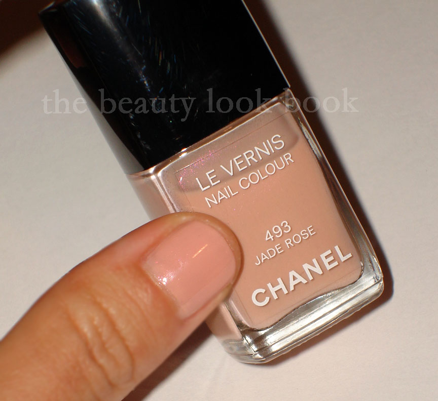 Chanel Jade Rose Le Vernis Nail Colour The Beauty Look Book