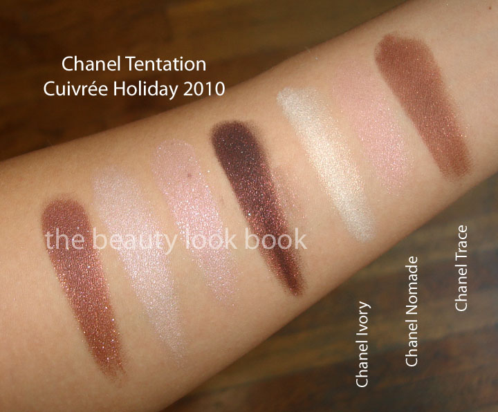 Chanel Holiday 2010 Tentation Cuivr 233 E Quadra Eyeshadow