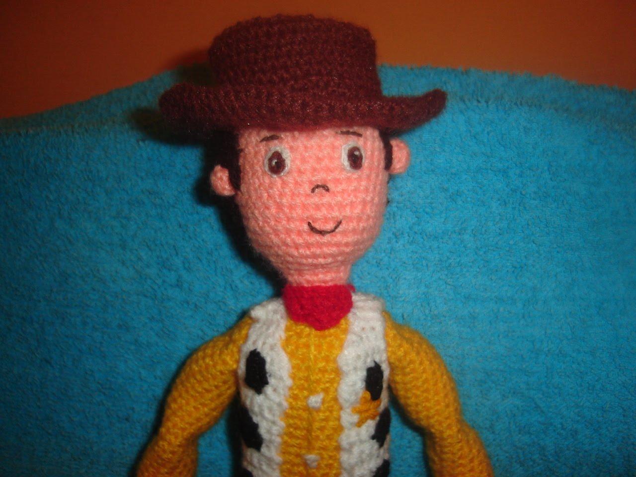 woody toy story crochet