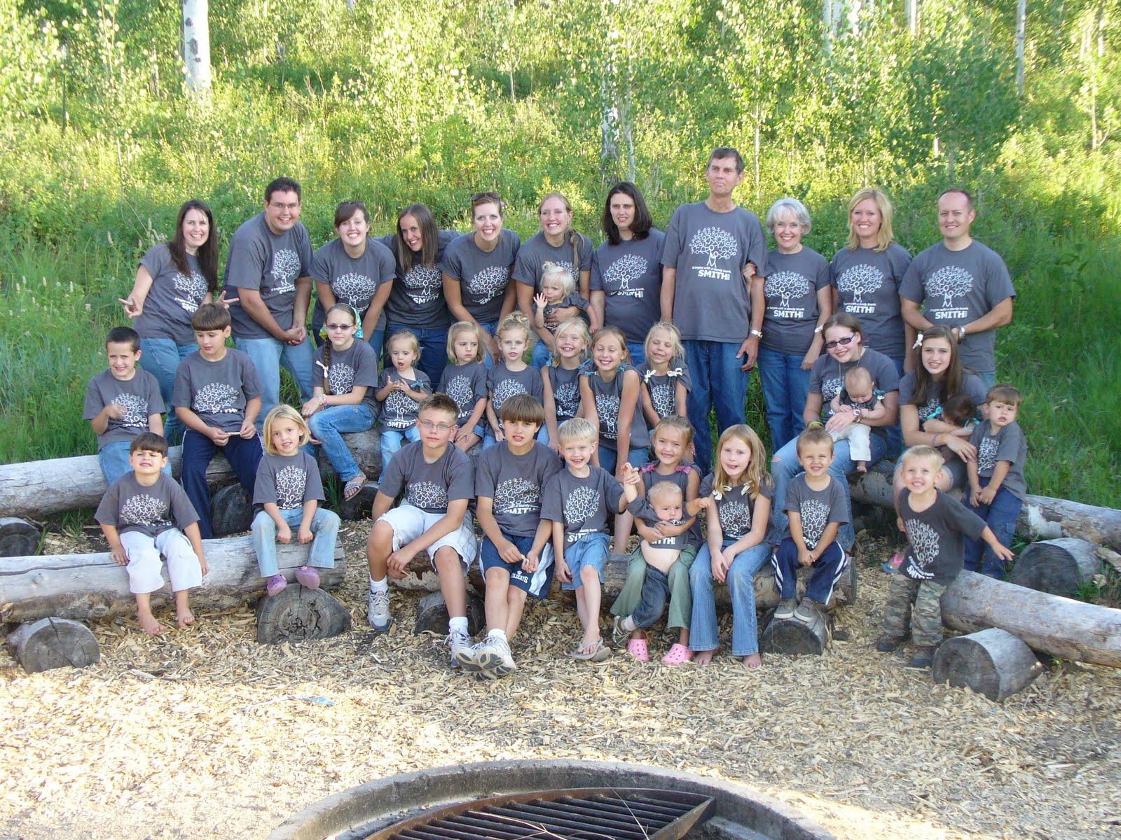 Smith Family Reunion 2010 Heber Valley Camp