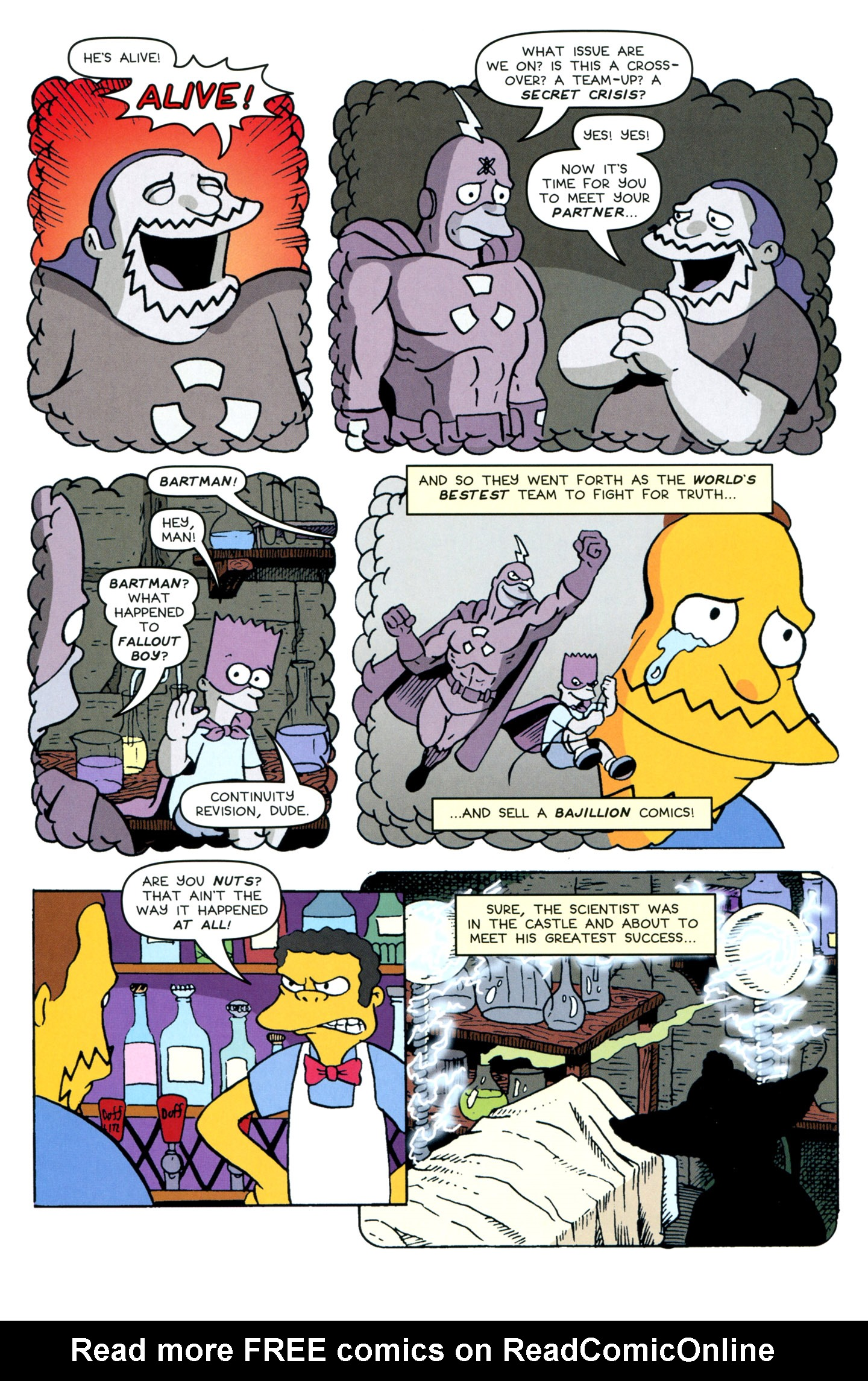 Read online Treehouse of Horror comic -  Issue #18 - 42