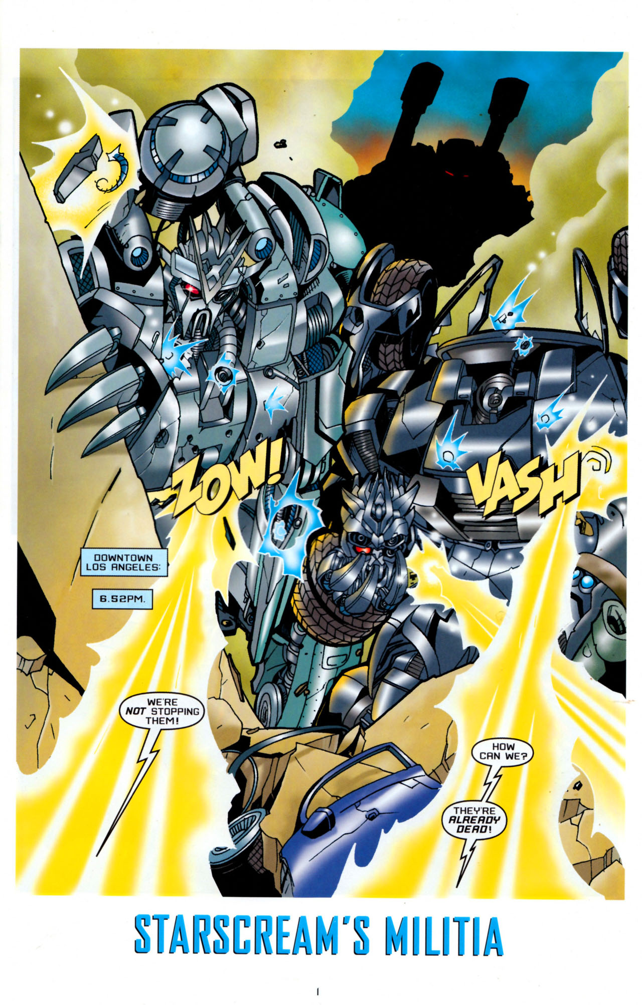 Read online Transformers: Saga of the Allspark comic -  Issue #4 - 4