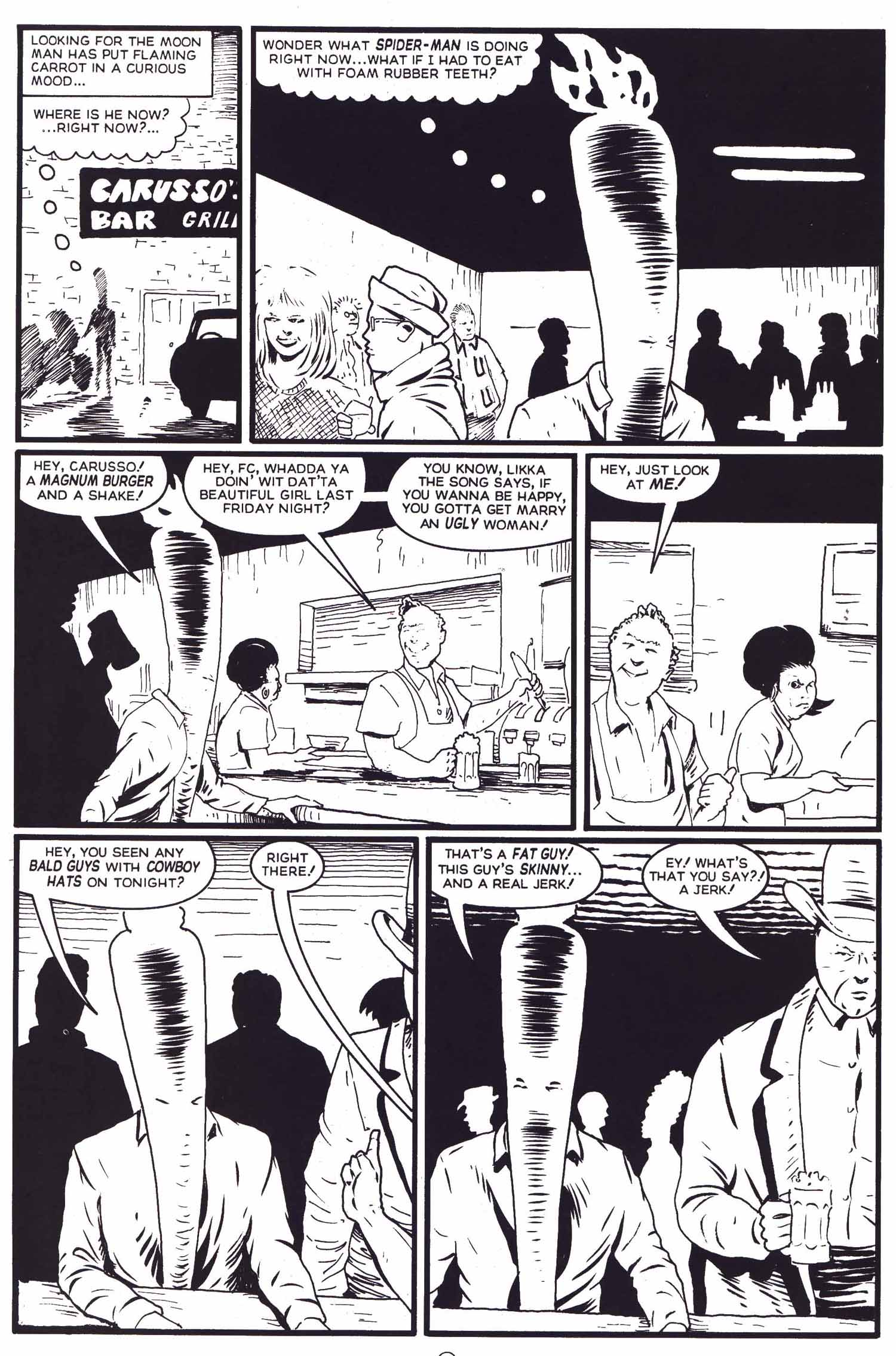Read online Flaming Carrot Comics (1988) comic -  Issue #29 - 17