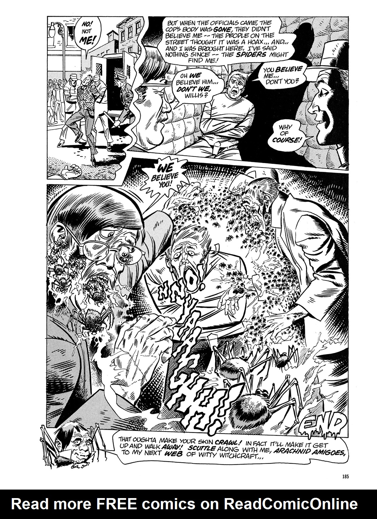 Read online Eerie Archives comic -  Issue # TPB 5 - 186