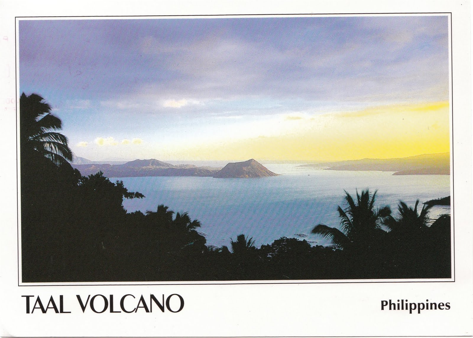 World Of Postcards Taal Volcano