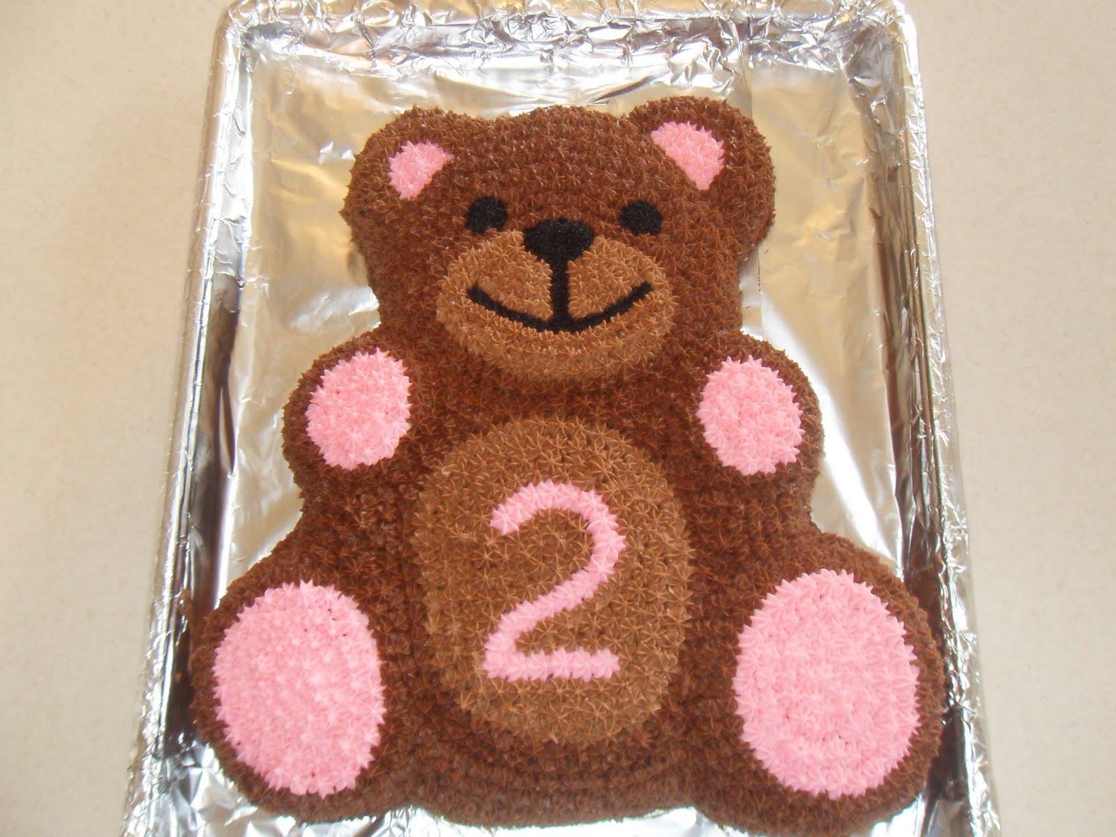 Simple Joy Crafting Teddy Bear Birthday Cake