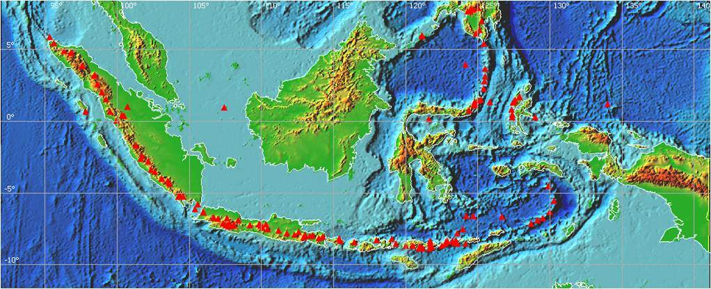 Ring of Fire Indonesia  Geograph88