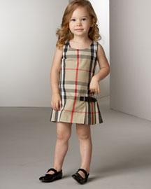 fc1bcd7932e3d ملابس اطفال ماركة بربري BURBERRY بناتي - عالم حواء