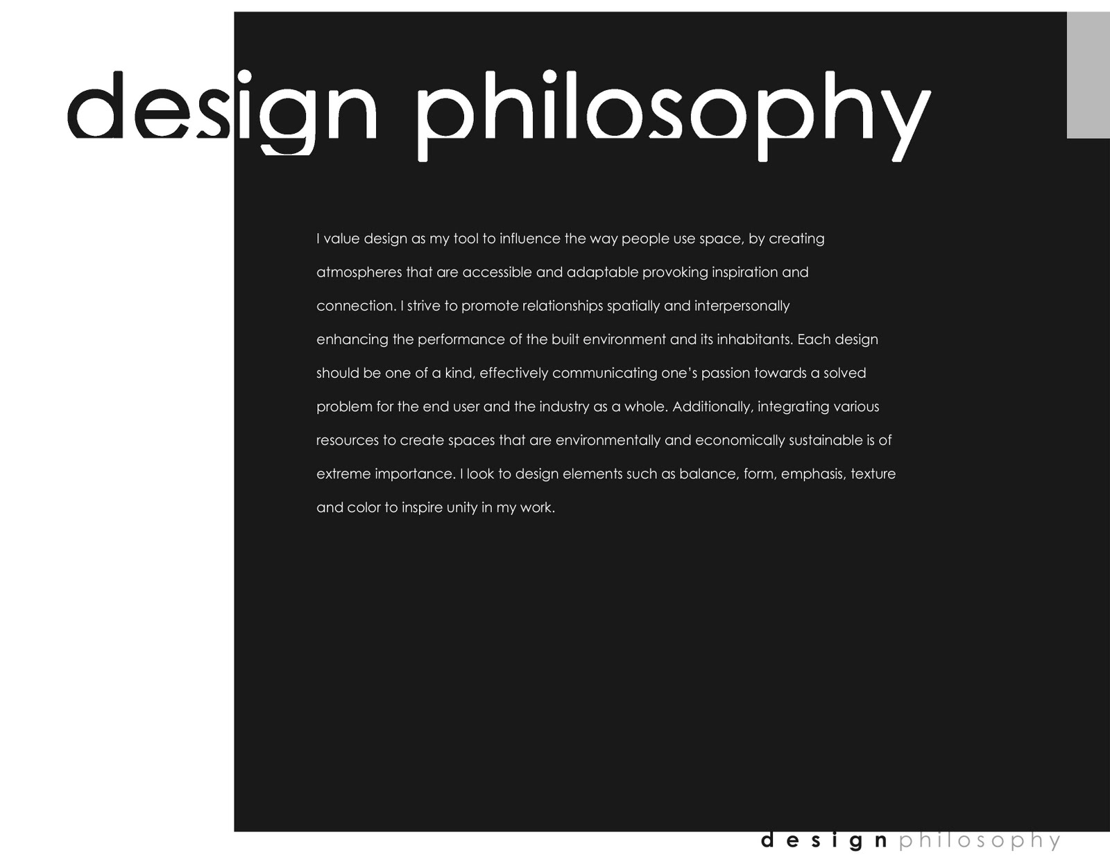 Design Philosophies From the Masters