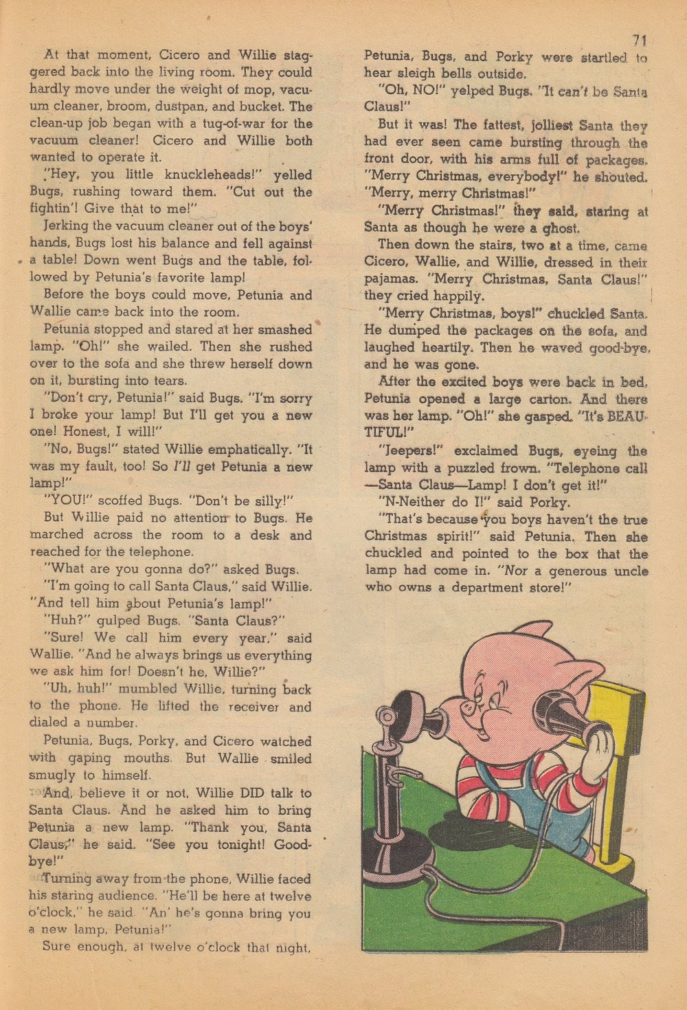 Bugs Bunny's Christmas Funnies issue TPB 4 - Page 73