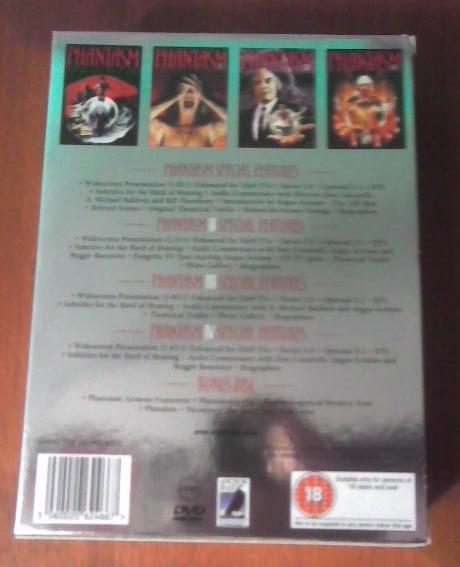 Pirika's DVD Collection: Phantasm 5DVD Box Set, Incluides
