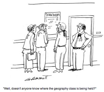 CAROLINA NATURALLY: Geography Exam