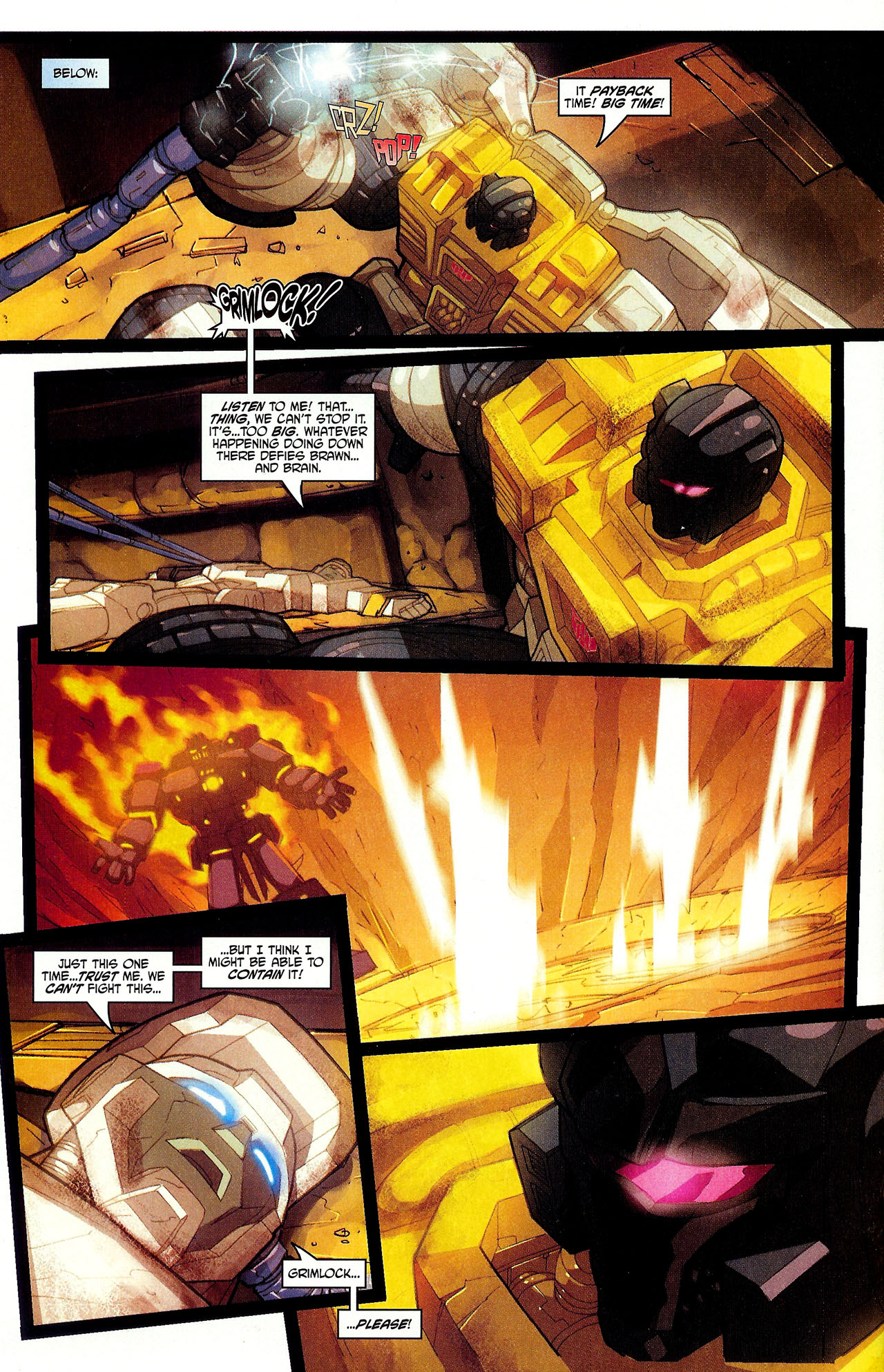 "Read online Transformers War Within: ""The Dark Ages"" comic -  Issue #6 - 14"
