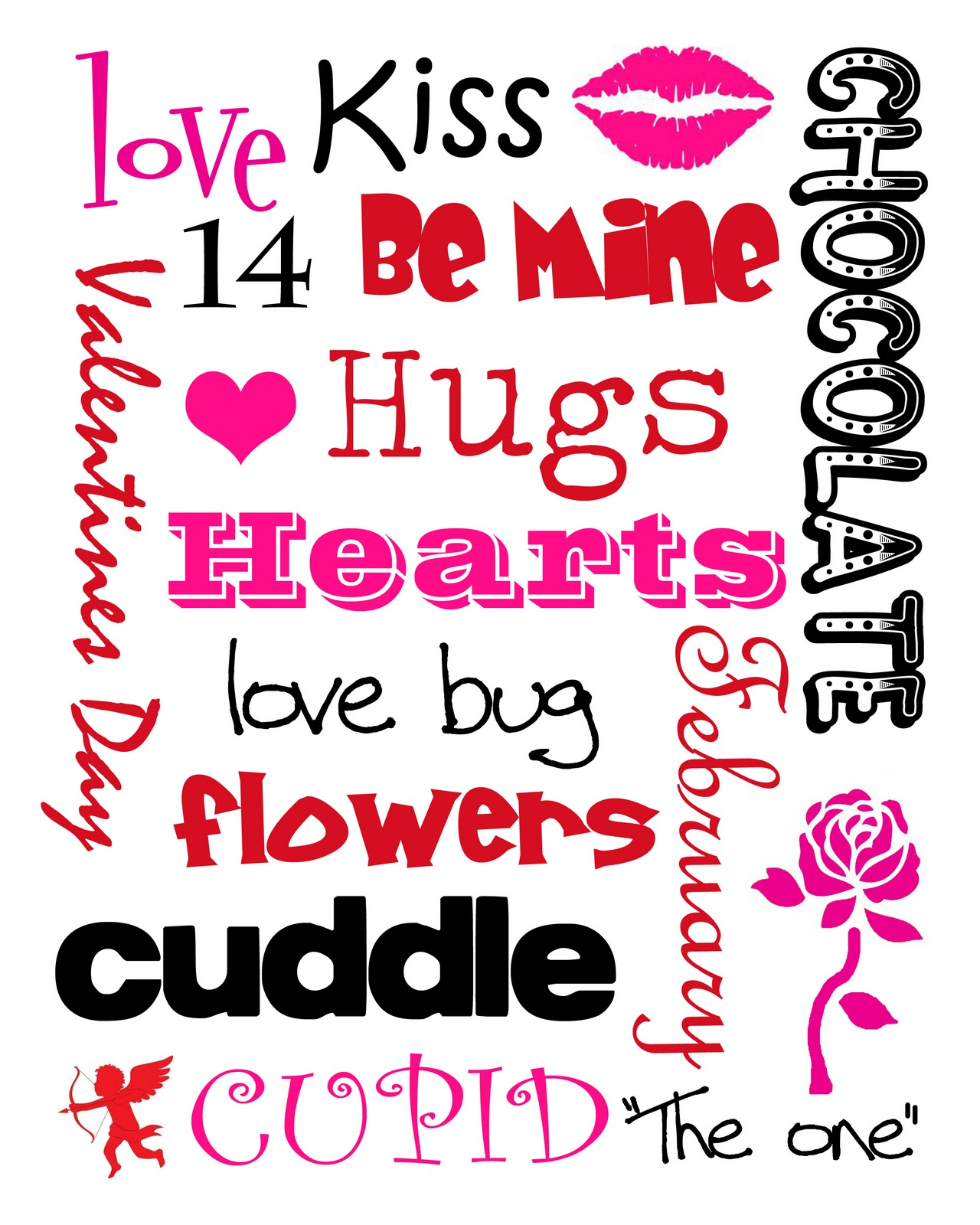 Thrifty Valentines Decor Goodwill Picture Frame Free Printable