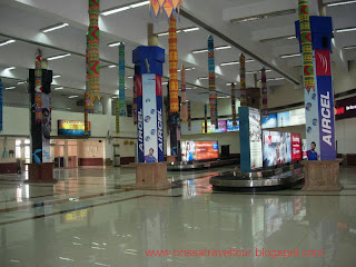 ARRIVAL HALL AT BHUBANESWAR AIRPORT