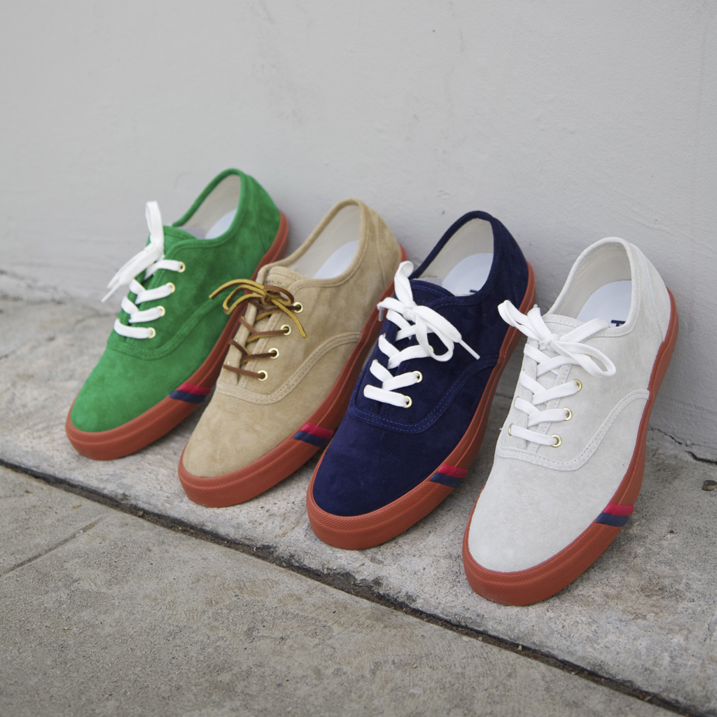 WEAR DIFFERENT: Mark McNairy Royal CVO Suede PRO-Keds