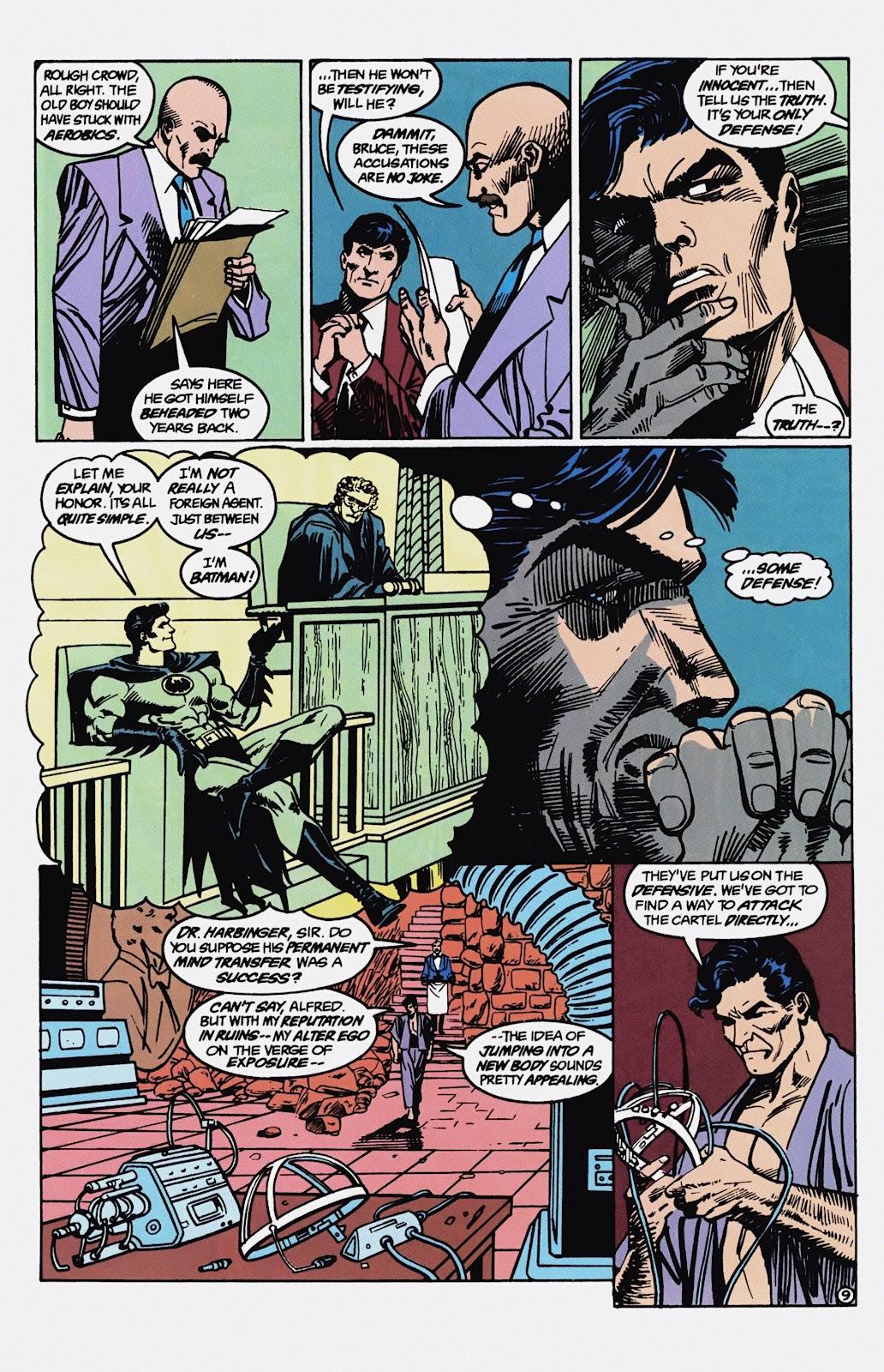 Read online Detective Comics (1937) comic -  Issue # _TPB Batman - Blind Justice (Part 1) - 74