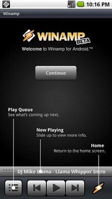 Winamp for Android Beta