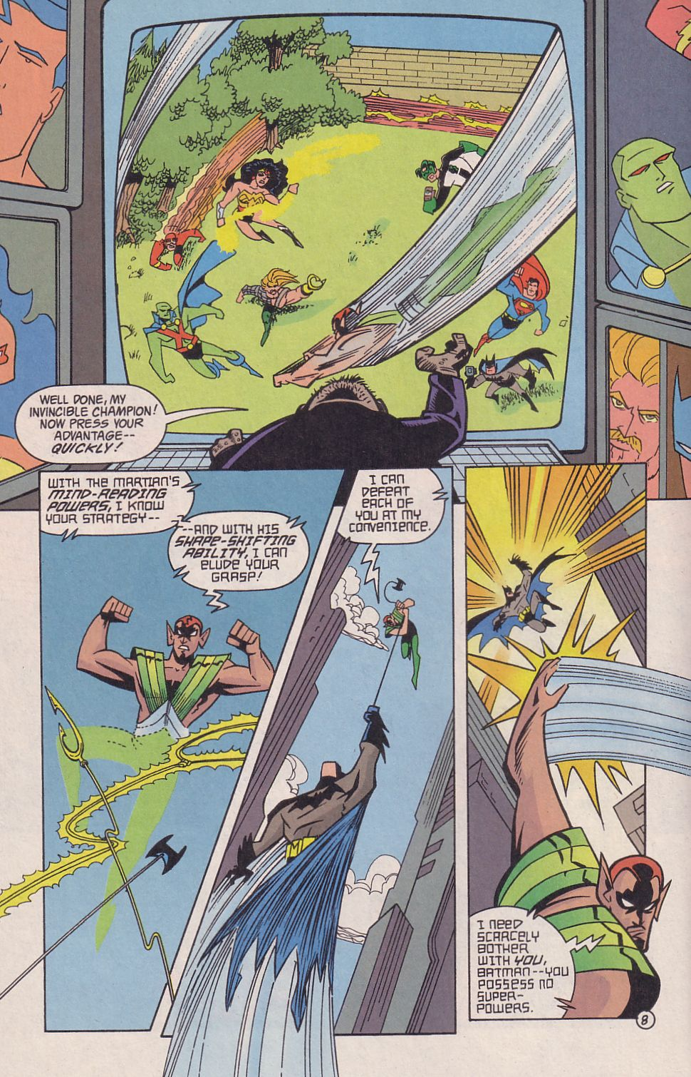 Read online Adventures in the DC Universe comic -  Issue #18 - 9