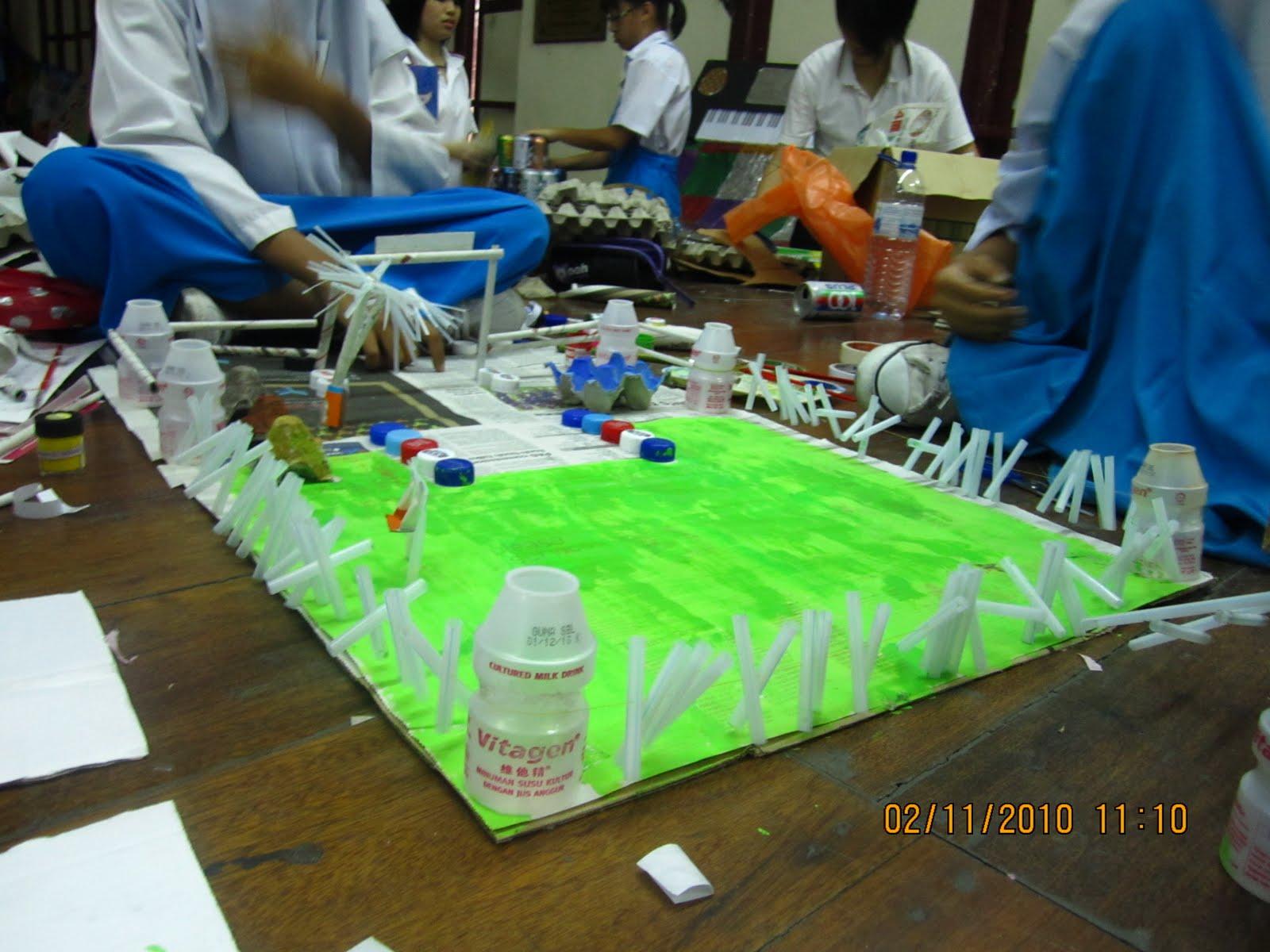 Our Argosy Smk Methodist Girls Ipoh Perak Pasca Pmr 2010 Pertandingan Reka Cipta Bahan Terbuang