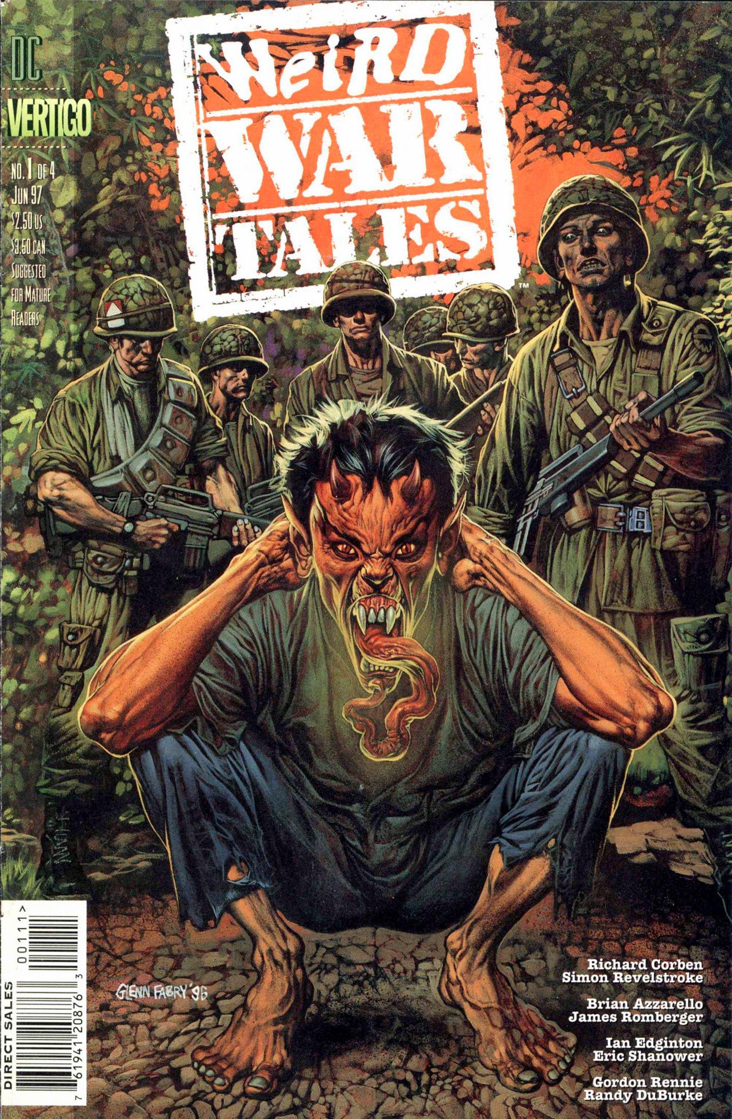 Weird War Tales (1997) issue 1 - Page 1