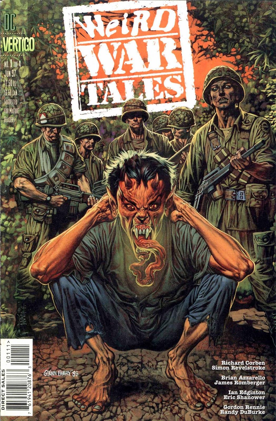 Read online Weird War Tales (1997) comic -  Issue #1 - 1