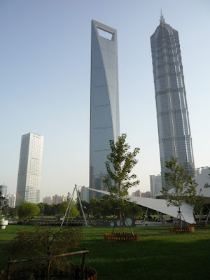 Shanghai Financial Center & Jin Mao Tower