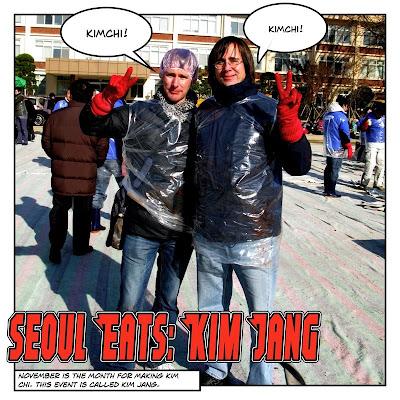 Kimjang Comic - Seoul Eats