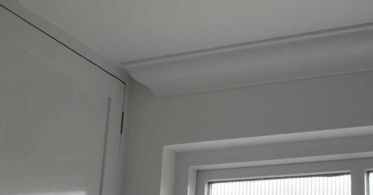 Modern Country Style Cornice In The Bathroom