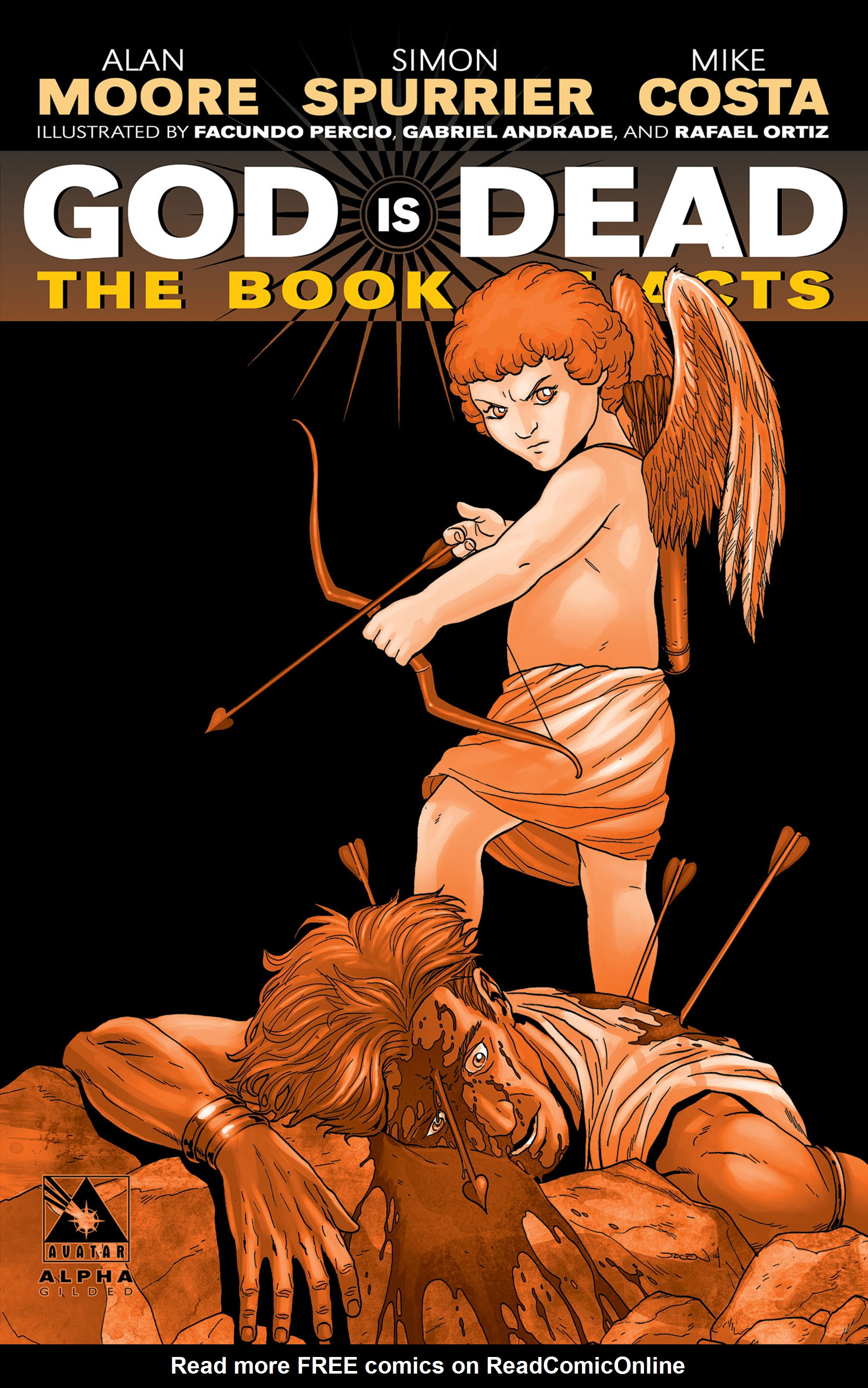 Read online God is Dead: Book of Acts comic -  Issue # Alpha - 4