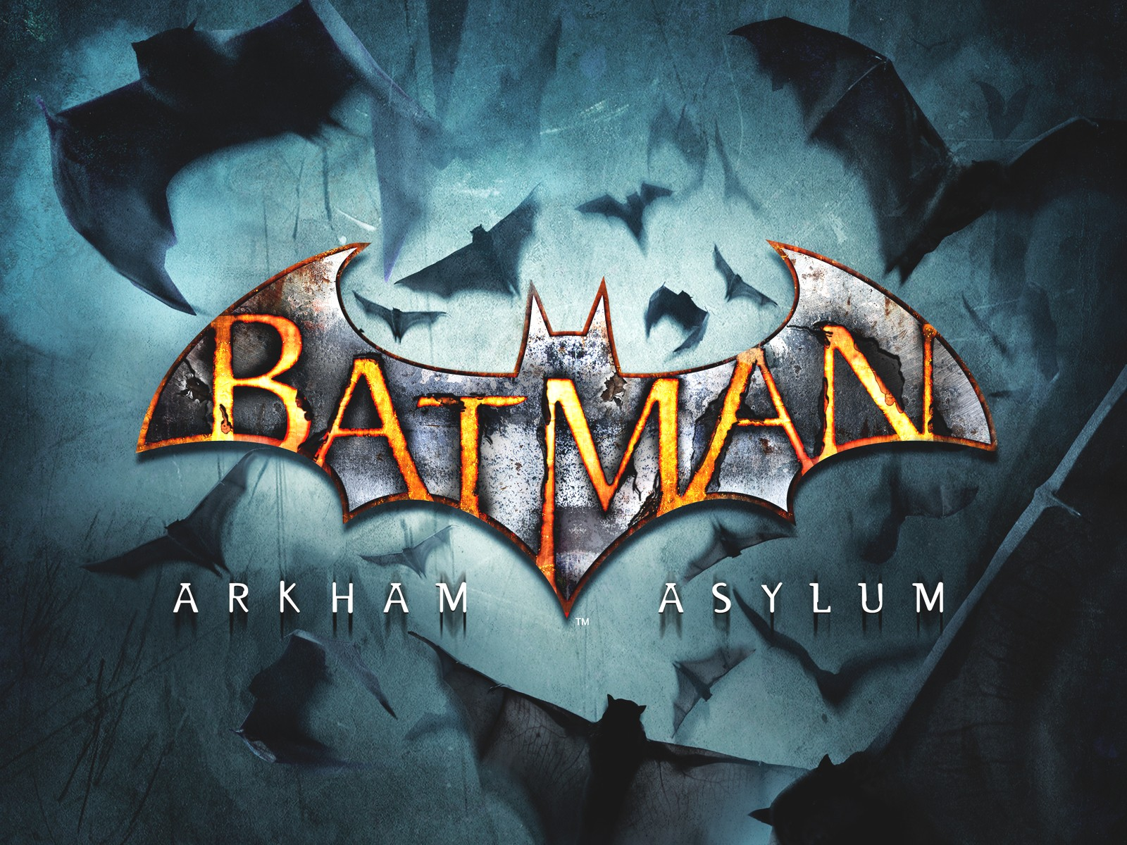 Batman Arkham Asylum Wallpaper: Logo & Logo Wallpaper Collection: BATMAN LOGO WALLPAPER