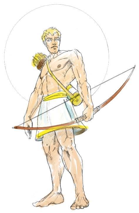 Greek Gods   DApollo God Symbol