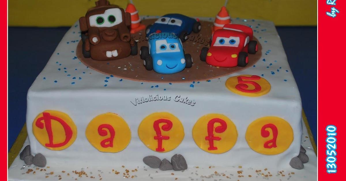 Disney Cars Cake Tin