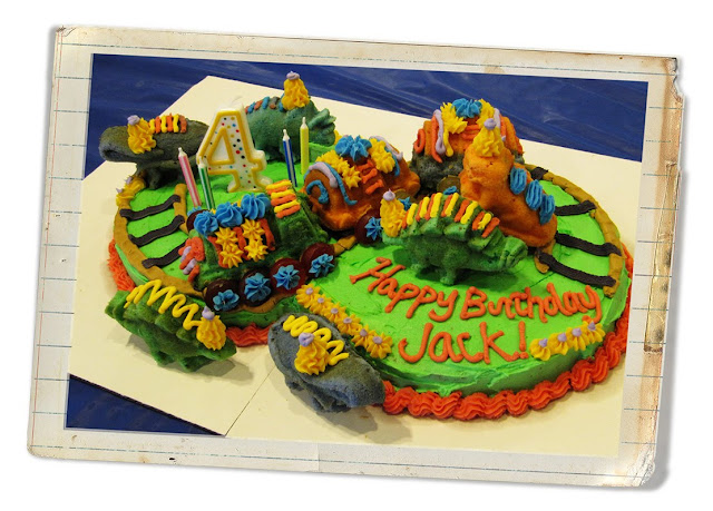 Dinosaur Train Cake And Some Cake Decorating Tips And Tricks