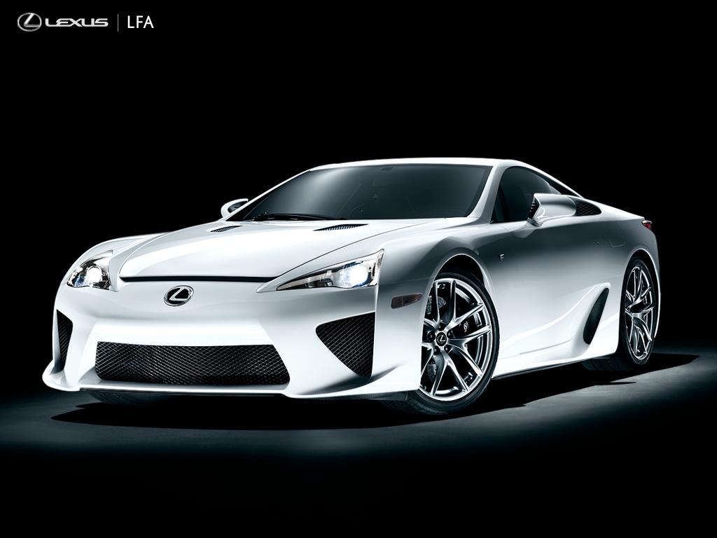 Exotic Sport Cars: 7/10 Lexus LFA