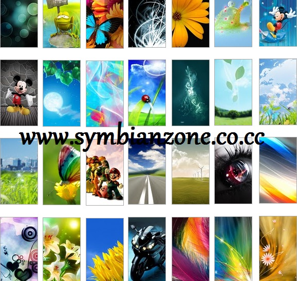 Best Wallpapers Pack for Symbian^3 - Nokia N8, C6-01, E7 and E7