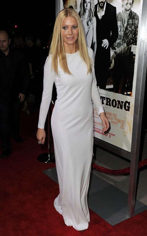 Wallpaper World Gwyneth Paltrow Hot White Dress Pics