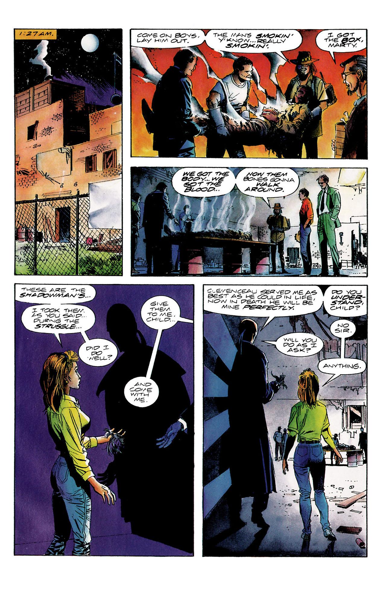 Read online Shadowman (1992) comic -  Issue #8 - 19